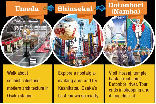 3h Osaka Intro Tour, Umeda Shinsekai Dotonbori
